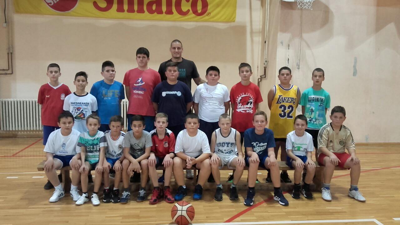 Школа кошарке 2016.