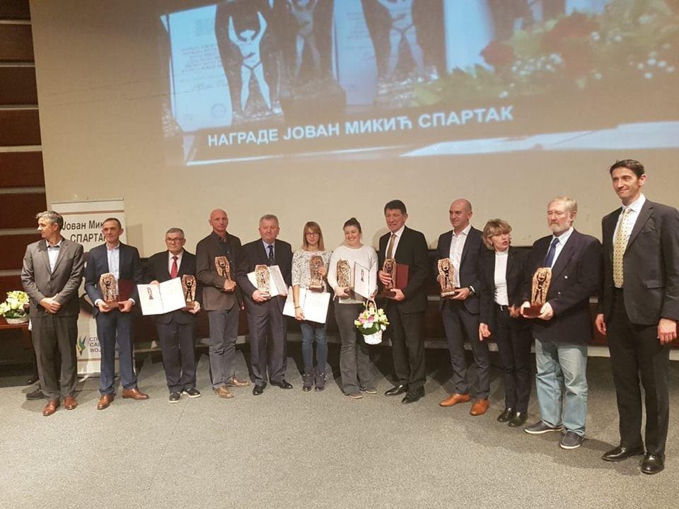 Steva Kocalka nagrada Spartak dodela